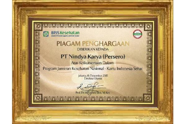 Penghargaan BPJS Kesehatan 2015