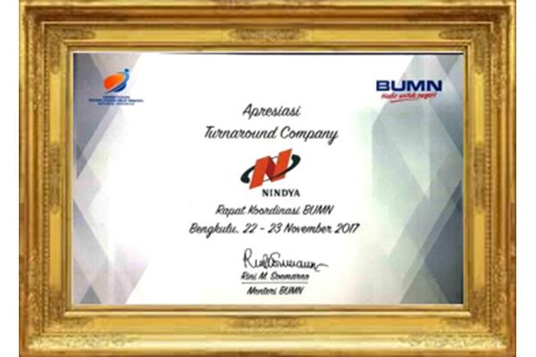 Penghargaan Menteri BUMN 2017
